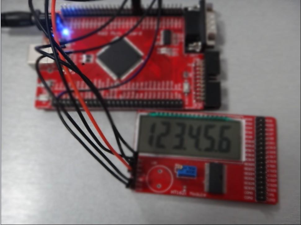 基于k60dn512最小系统板驱动段式液晶屏模块