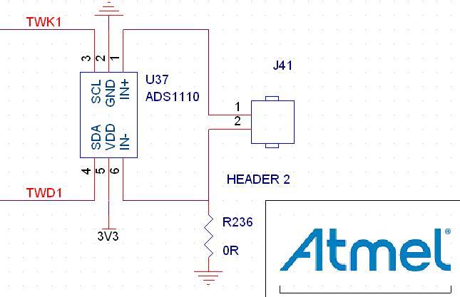 开发板i2c扩展adc_ads1110