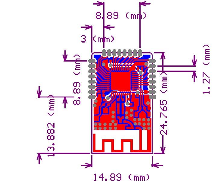 cc2541f256蓝牙4.0 ble模块,256kb flash,,8kb sram,12位adc