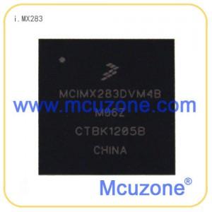 i.MX283, 454MHz ARM926EJ-S, 内置PMU, LCD, 以太网, USB OTG HS, UART×5, 12位ADC