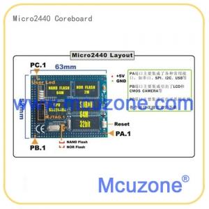Micro2440核心板 64M SDRAM 1GB NAND