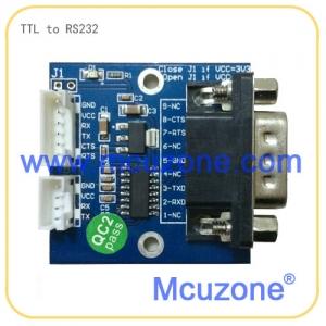 ttl转rs232串口电平模块