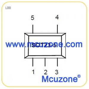1.2V,300mA,SOT23-5封装LDO