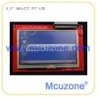 4.3寸 480*272 TFT LCD液晶屏,带电阻触摸屏