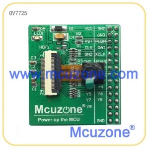 OV7725摄像头模块,30万像数,可与K60和MDK905开发板的ISI接口直接连接