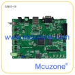 ATSAM4E-EK_T28开发板,Cortex-M4,10/100M以太网,双CAN,双485,nandflash,SPI Flash,配2.8寸TFT液晶屏,可通过USB进行ISP下载