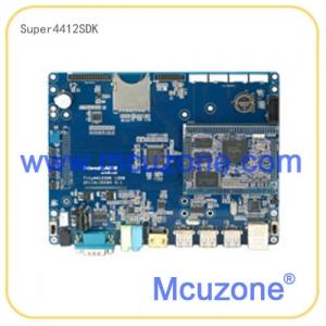 Super4412标准版,不带屏,2GB DDR3 RAM @400Mhz, 标配16GB eMMC闪存, 支持HDMI 1080P输出,预装OS: Android 4.2.2