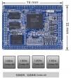 TINY4412SDK-1312开发板 标配1GB DDR3 RAM@400Mhz,标配4GB eMMC内存