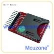 SD卡 TF卡 micro SD模块(自弹式)
