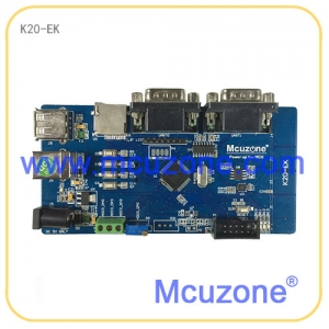 K20-EK开发板,50MHz Cortex-M4, USB OTG, TF卡, 多串口, 加速度传感器, 温度传感器, 触摸按键
