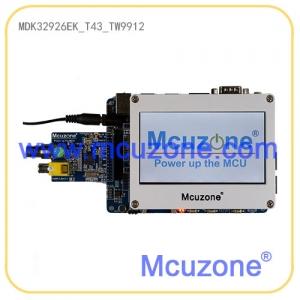 MDK32926-EK_T43_TW9912摄像头开发板(基于新唐N32926U1DN),标配4.3寸液晶屏和TW9912模块,内置64MB DDR2的ARM9 SOC,H.264编解码器