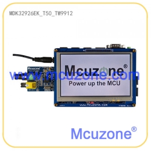 MDK32926-EK_T50_TW9912摄像头开发板(基于新唐N32926U1DN),标配5寸液晶屏,内置64MB DDR2的ARM9 SOC,H.264编解码