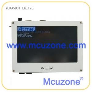 MDKA5D31-EK_T70开发板,536MHz CortexA5内核ATSAMA5D31,256MB DDR2,256MB NAND,最多支持6串口