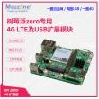 树莓派zero4G LTE及USB以太网扩展华为ME909S网关路由 GPS EC20  (配CAT4 免驱版)