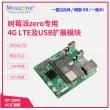 树莓派zero4G LTE及USB以太网扩展华为ME909S网关路由 GPS EC20  (配华为标准版)