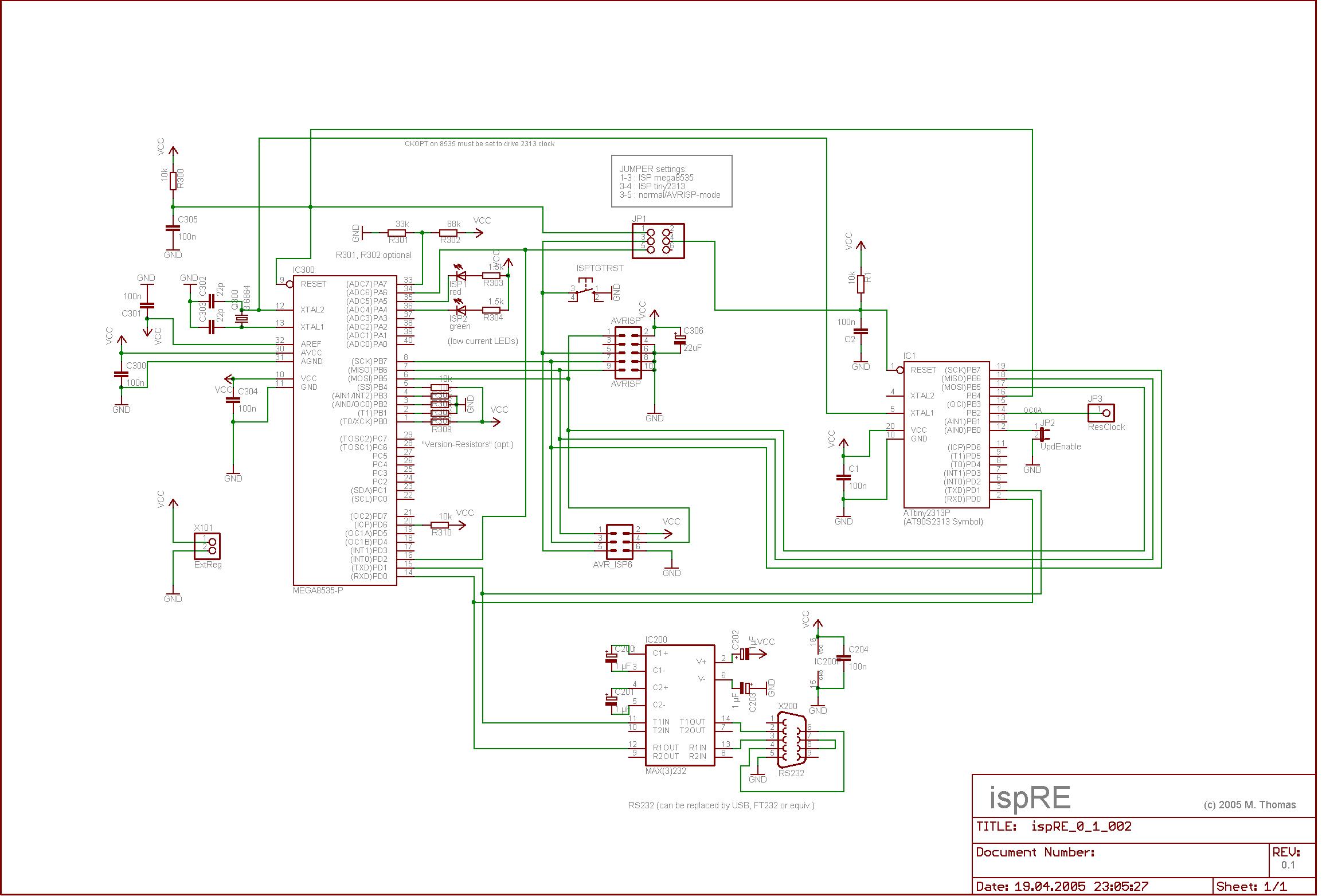 atmega8535典型电路图